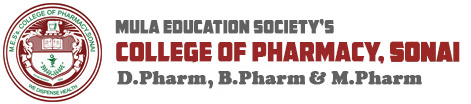 M.E.S's College of Pharmacy, Sonai